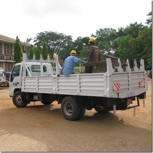 Power Line Truck