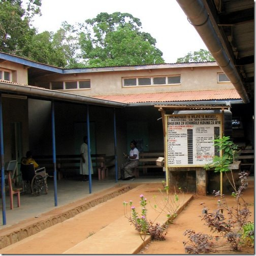 Price List at Tanzanian Hospital