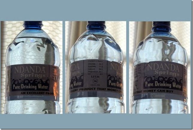 Ndanda Water: An Excellent Product That Money Can Buy