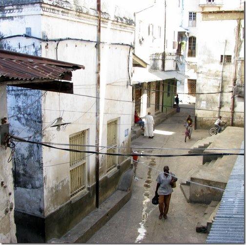 Narrow Stone Town Streets