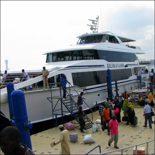 Fast Ferry to Zanzibar
