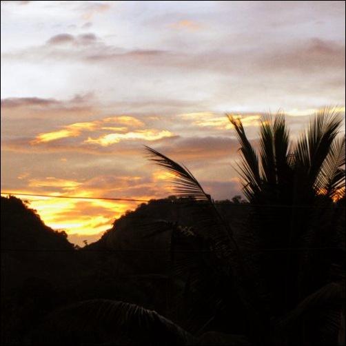 Sunset in Masasi