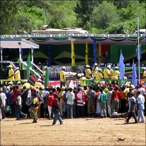 Umoja Bridge Opening Ceremony