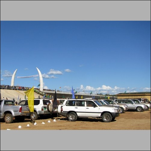 NGO SUVs