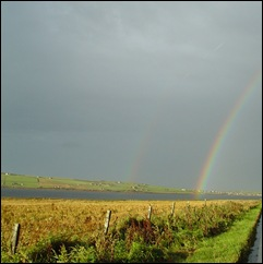 Double Rainbow on Orkney