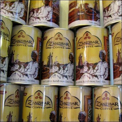 Zanzibar Coffee Tins