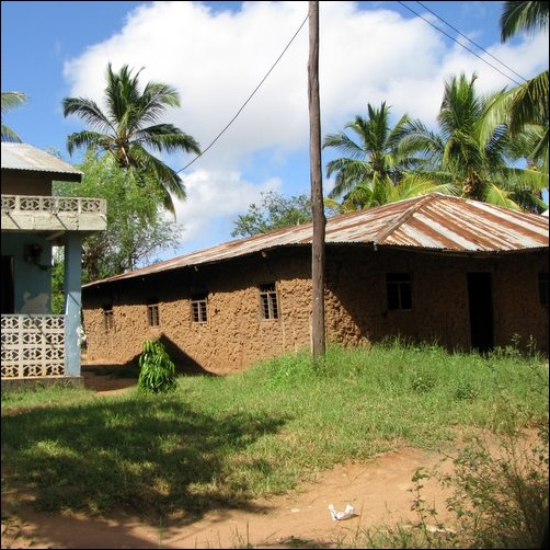 Mud House in Masasi Tanzania