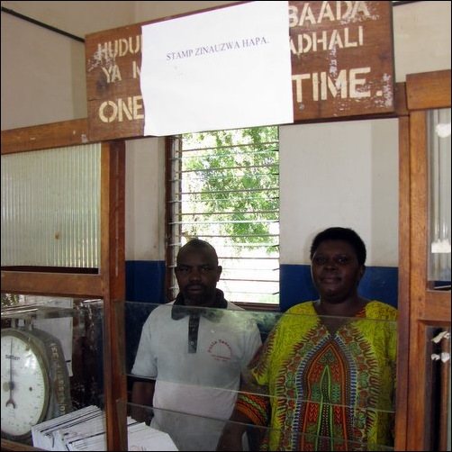 Postal Employees - Masasi Tanzania