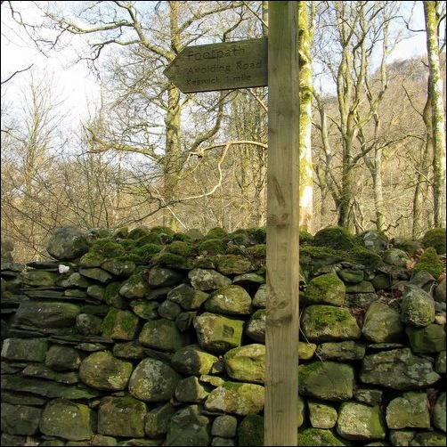 stone wall in Lake District