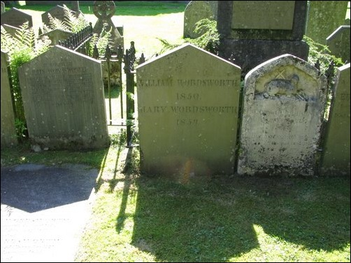 Wordsworth grave Grasmere