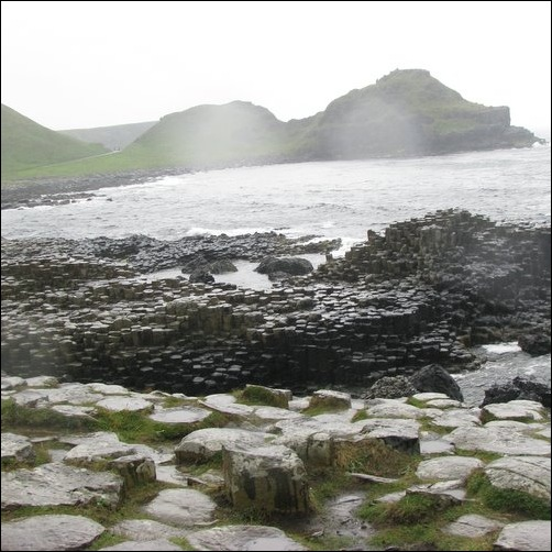 Giant's Causeway in the Rain 2