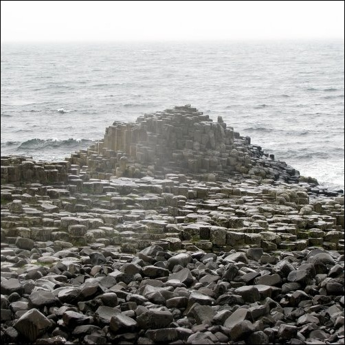 Giant's Causeway in the Rain 3